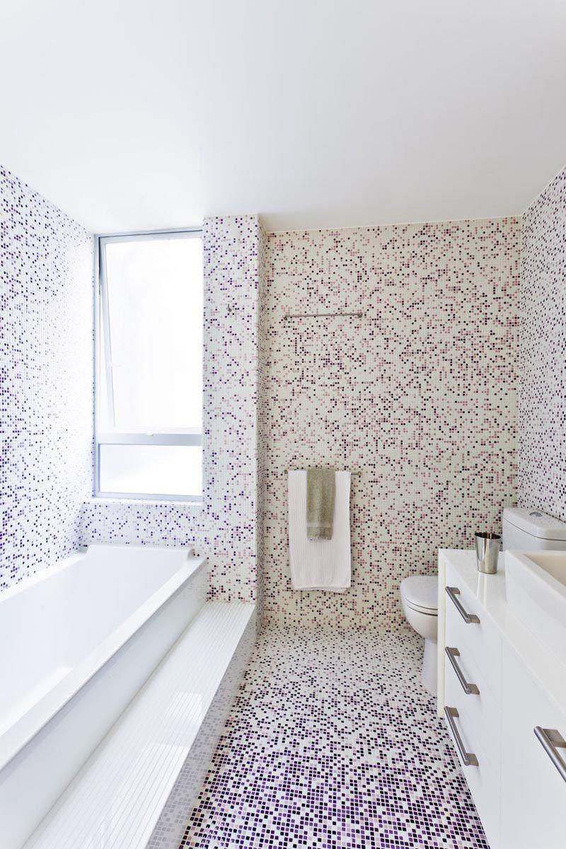 Bathroom Tile Idea - Use The Same Tile On The Floors And The Walls ...