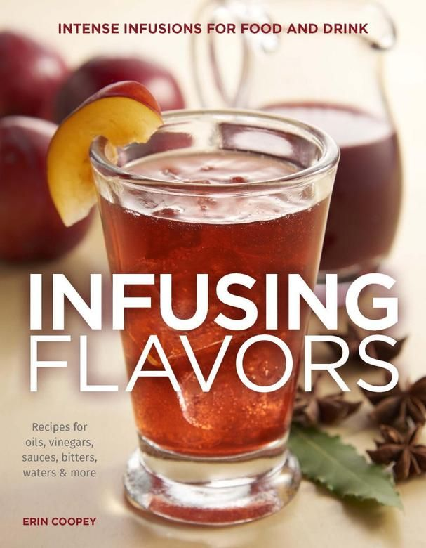 We're having a GIVEAWAY and you could be a lucky winner! 5 individuals will win a copy of Infusing Flavors: Intense Infusions for Food and Drink, plus one of those lucky winners will receive an infusion pitcher.