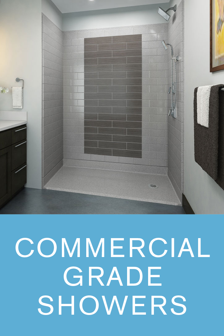 Commercial ADA Shower Stalls, Handicap Accessible Showers ...
