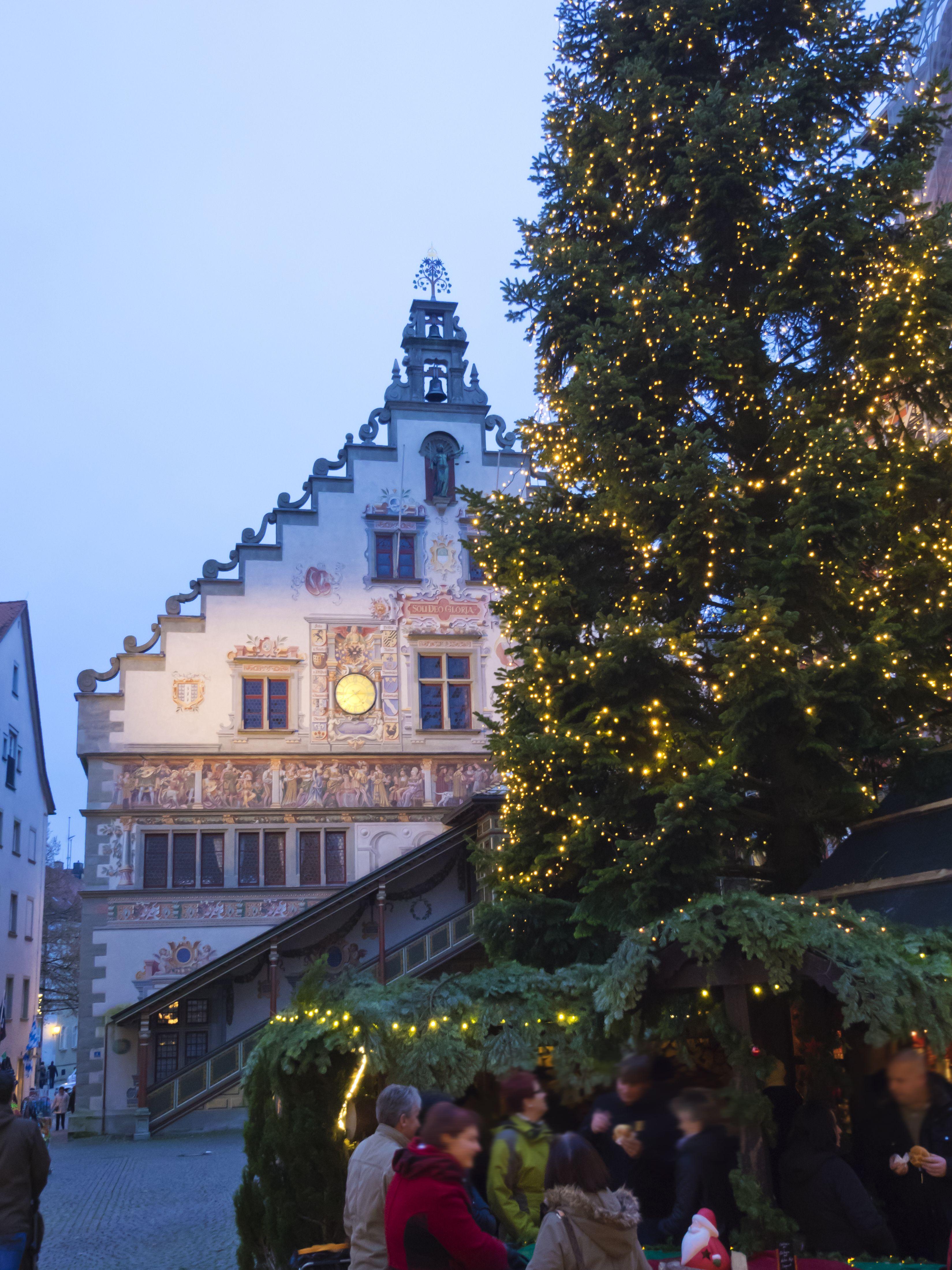 Lindau Weihnachtsmarkt.Weihnachtsmarkt Besuch In Lindau Am Bodensee Christmas Winter In