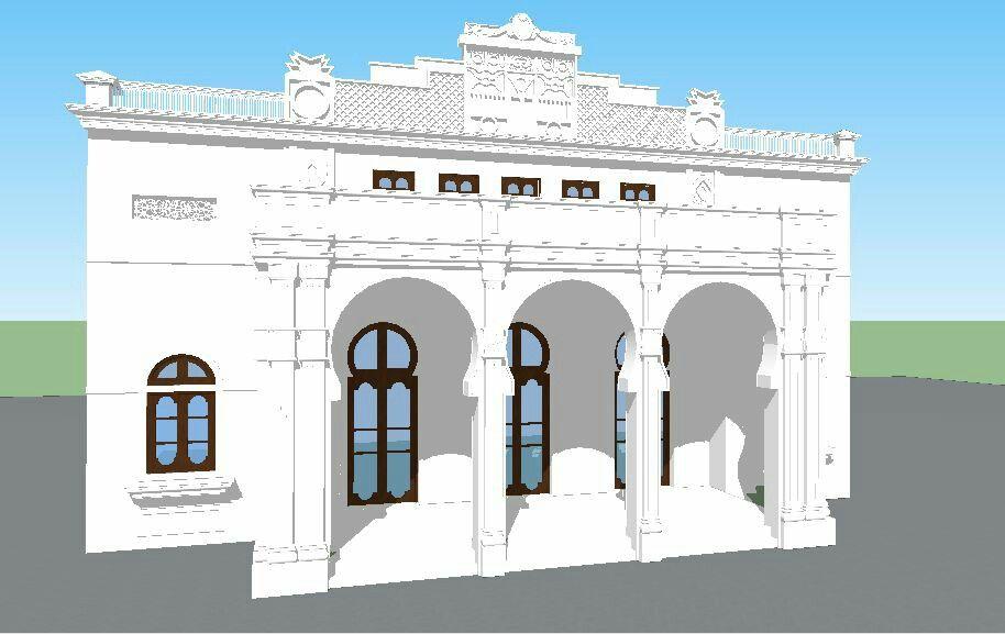 Teatro municipal Emiliano vengoechea de la ciudad de Barranquilla