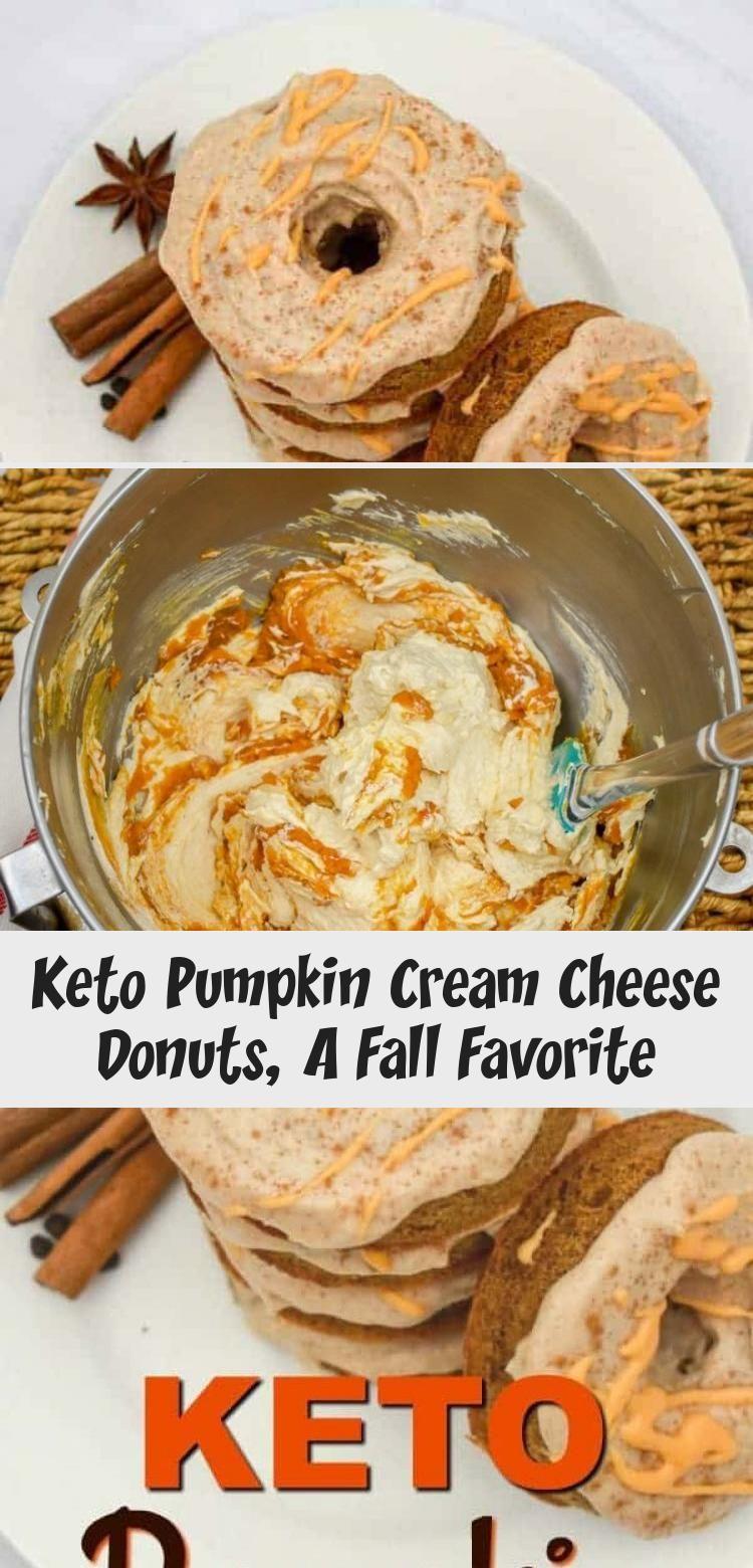 Keto pumpkin cream cheese donuts a fall favorite diet