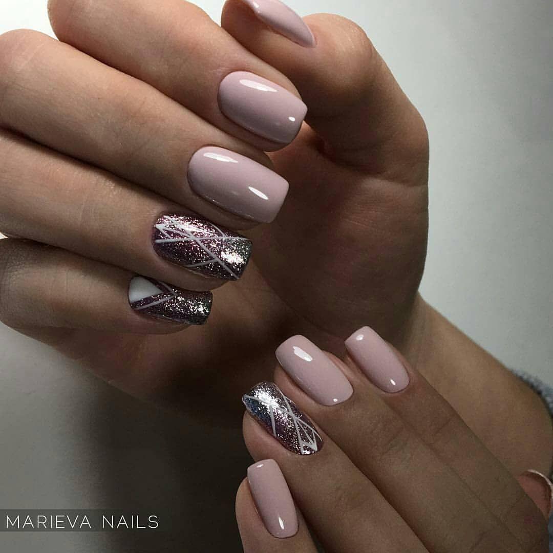 Pin by Olesya Gvozdeva on Nails | Pinterest | Manicure, Nail nail ...