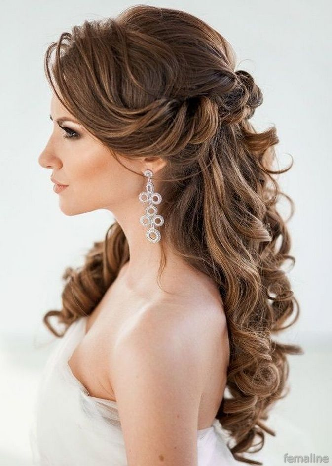 Bride Hairstyles Prepossessing 190 Elegant Bridal Hairstyles For Long Hair  Bridal Hairstyle