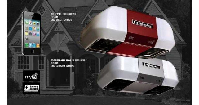 How To Replace The Backup Battery On A Craftsman Garage Door Opener Youtube