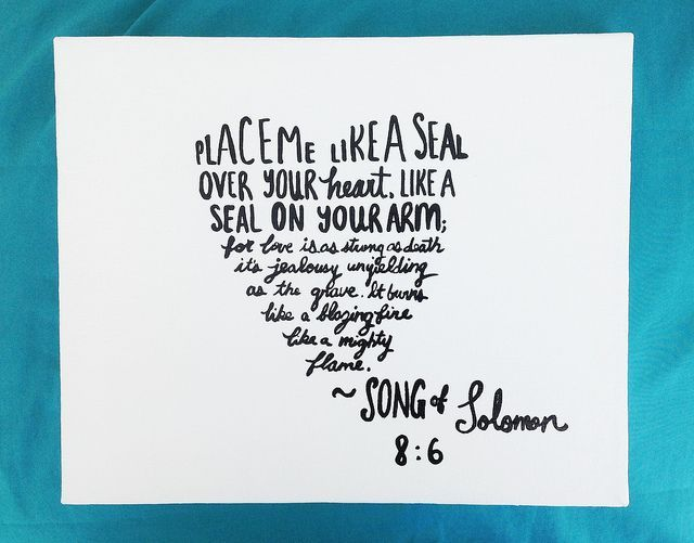Bible Verse Painting Song Of Solomon Quote