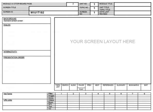 15 elearning storyboard templates storyboard template and 15 elearning storyboard templates saigontimesfo