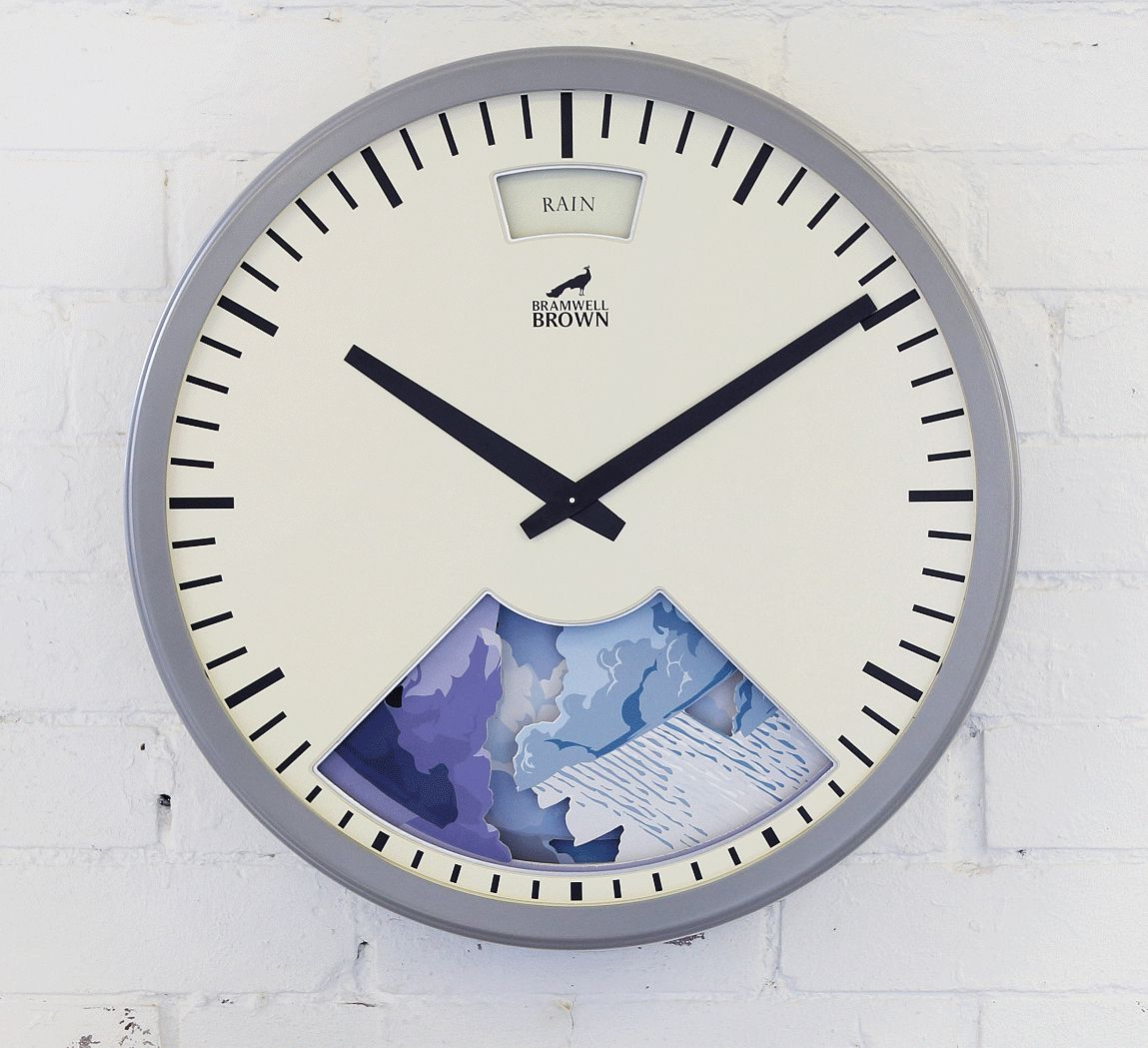 Home Accessories : Bramwell Brown Weather Clocks – Fawn. Country Luxe Living. Interior Design & Lifestyle Accessories.