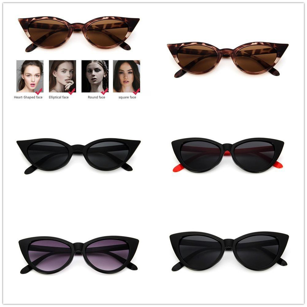 a98c072d94 Vintage Women Cat Eye Sunglasses Sexy PC Frame Travel UV400 Eyewear Glasses  CG  fashion  clothing  shoes  accessories  womensaccessories ...