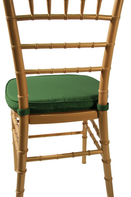 chiavari hunter green 2 double welted cushion commercial