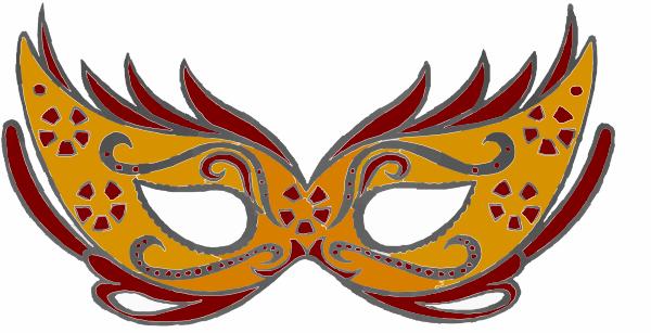 maskara maszk clip art at clker com vector clip art online farsang rh pinterest com gold masquerade mask clipart masquerade masks clip art png