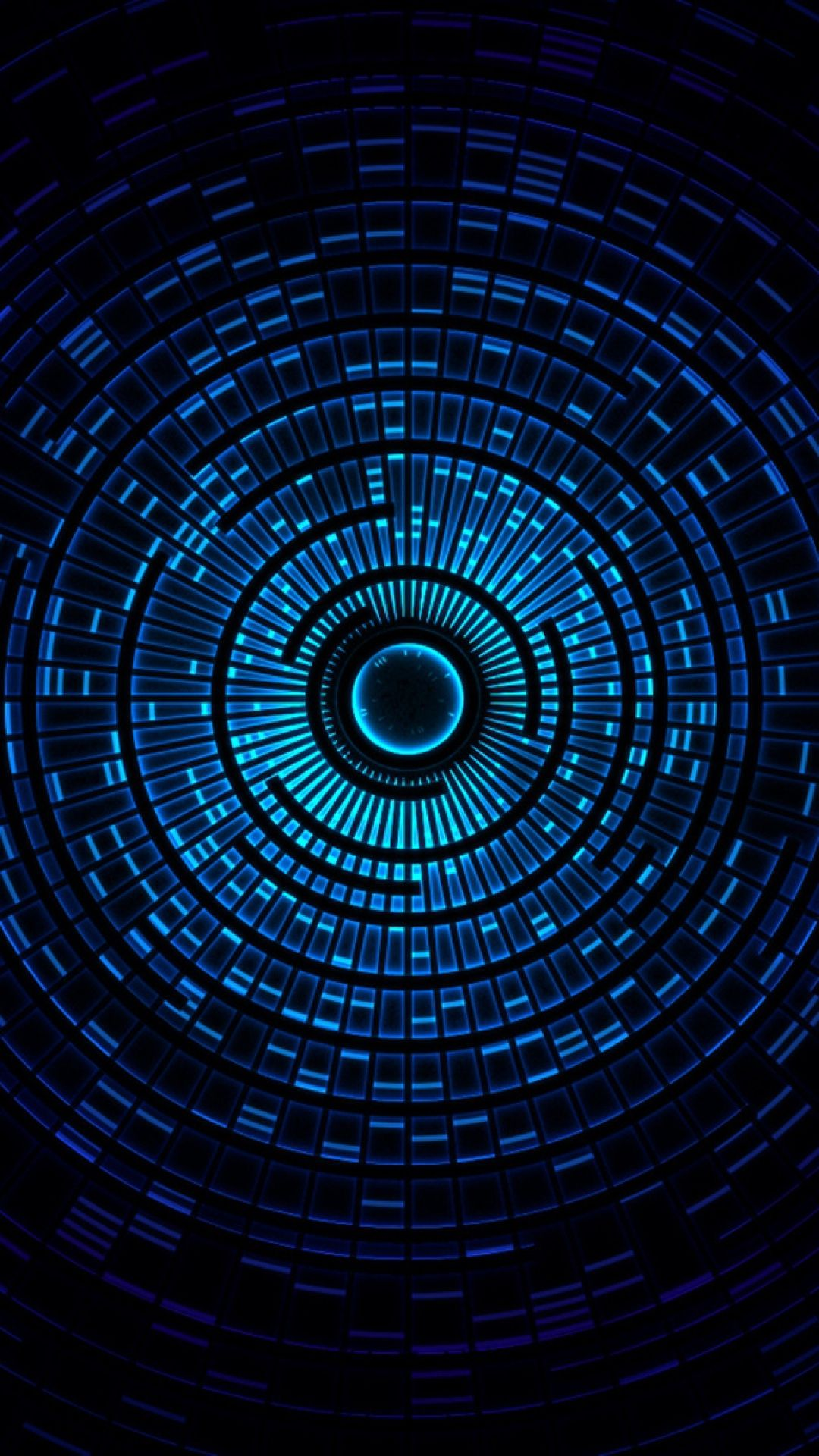Hd Background Blue Circle Pattern Abstract Design Texture