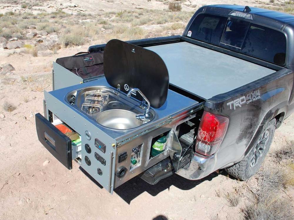 Talus VenturePack Camper Puts a Kitchen in Your Truck Bed