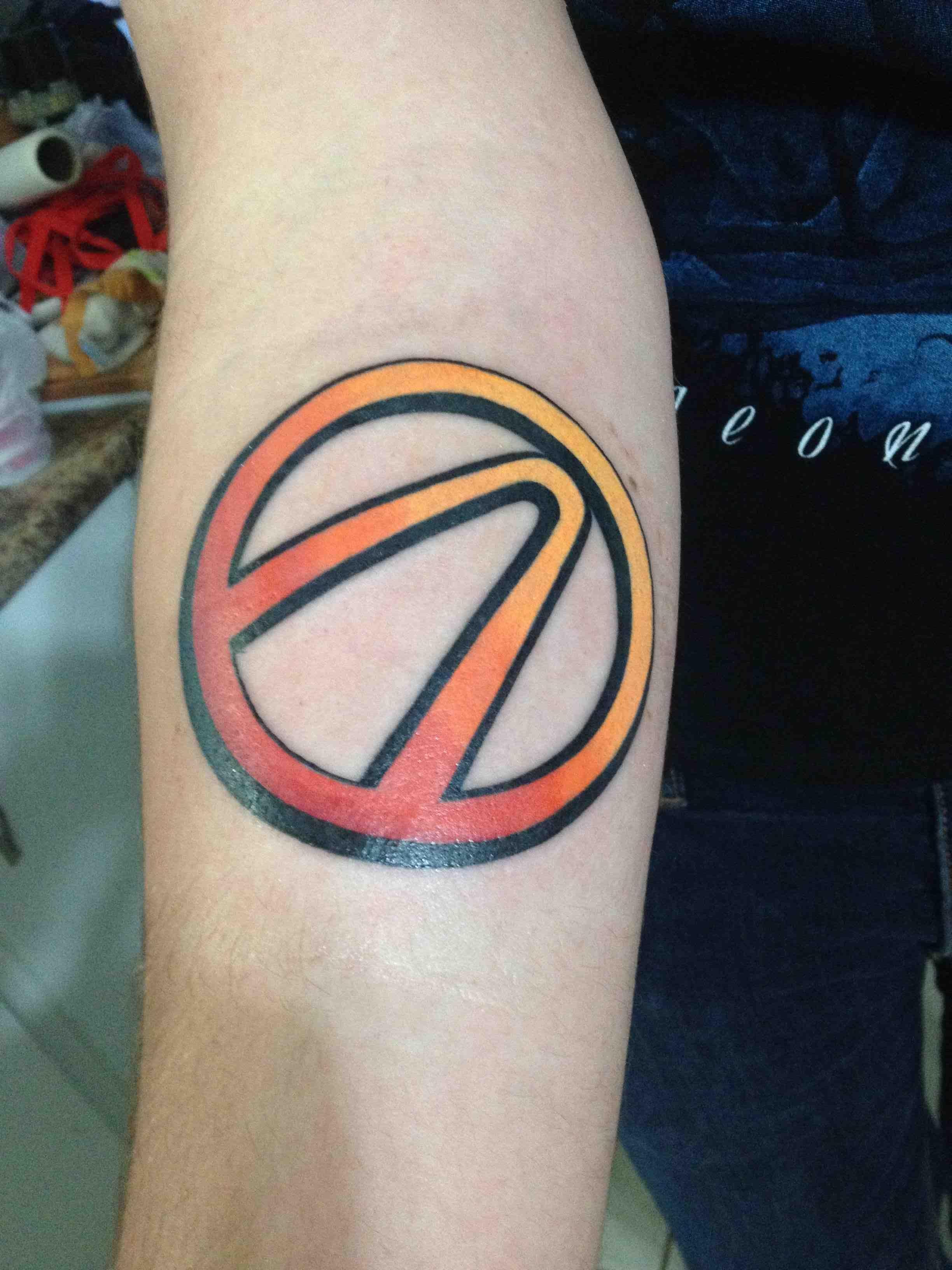 Bsregq3 Jpg 2448 3264 Borderlands Tattoo Tattoos Gaming Tattoo