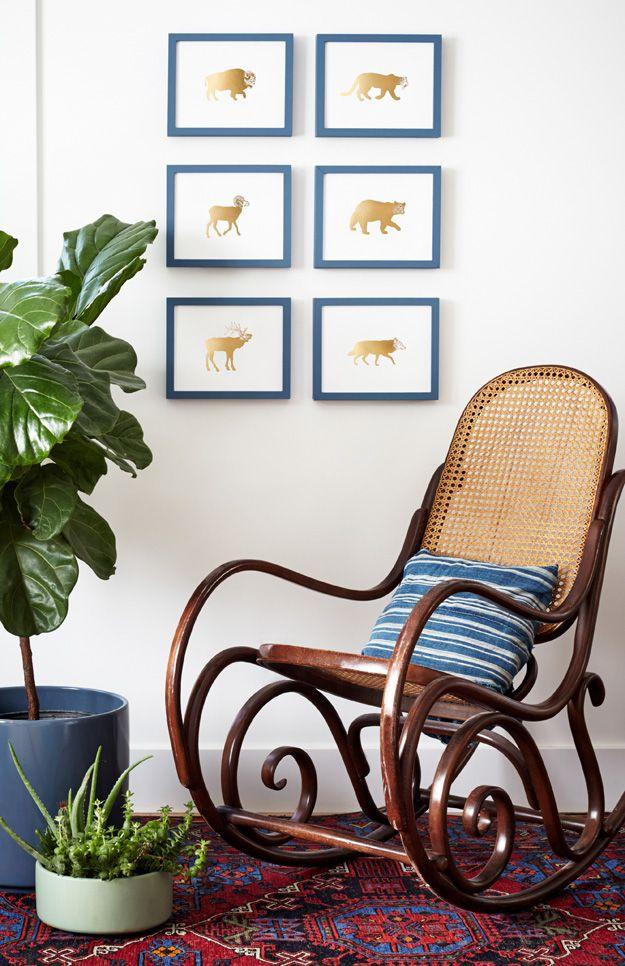Rocking Chair Glider Cute Furniture Bentwood Rocker