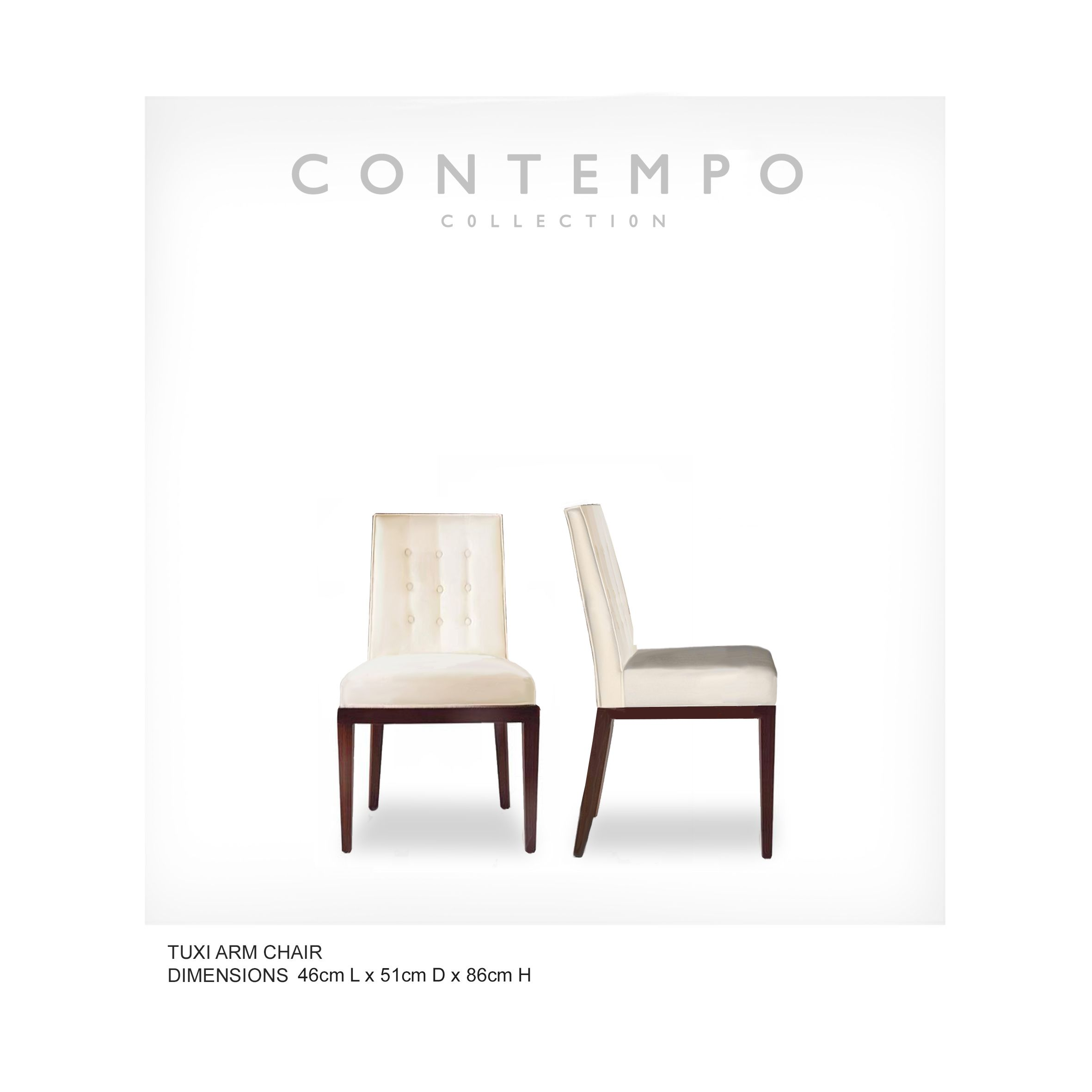 Dr Tuxi Dining Side Chair The Contempo Collection Was Created For