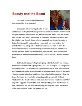 an analysis of beauty and the beast Have you ever heard something go thump in the night do you believe in monsters in the movies beauty and the beast and et, the monster like.
