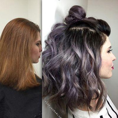 The 14 Prettiest Pastel Hair Colors On Pinterest Sac Renkleri