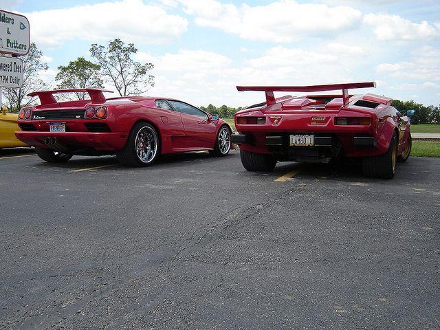 #Lamborghini Countach Diablo