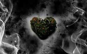 weed heart by deezlici0us