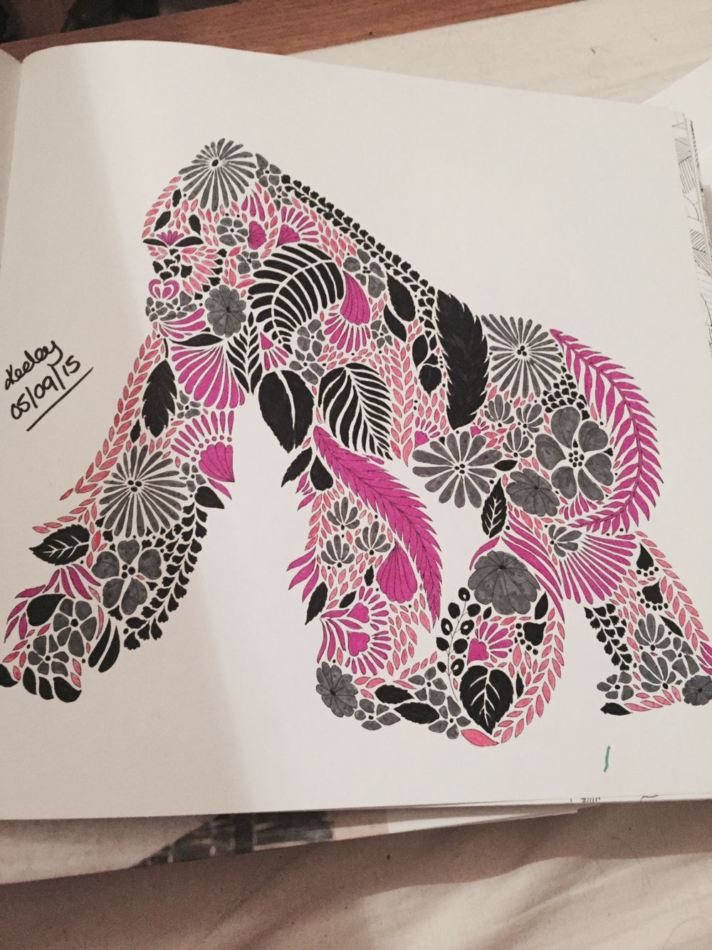 From Millie Marottas Animal Kingdom Colouring Book