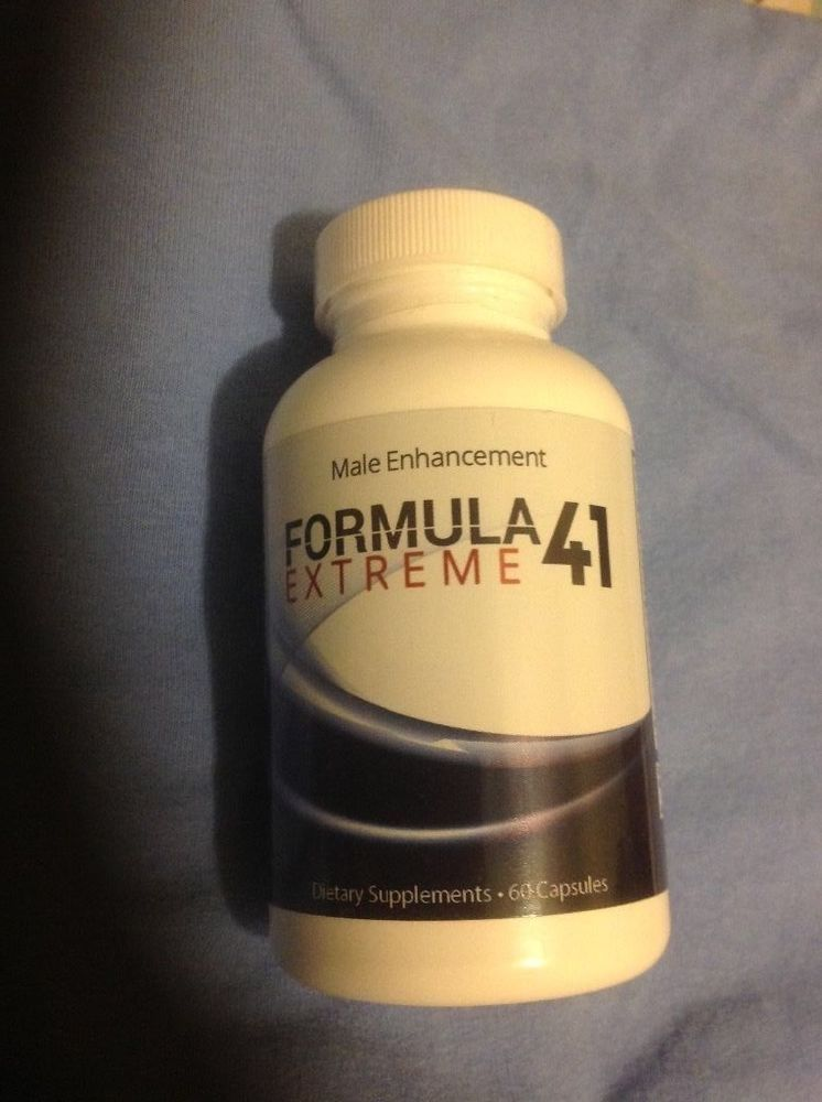 Formula 41 Extreme Male Enhancement Natural Herbal 1 Month Supply 60
