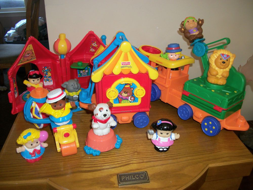 Best Little People Toys : Fisher price little people circus friends gift set w box