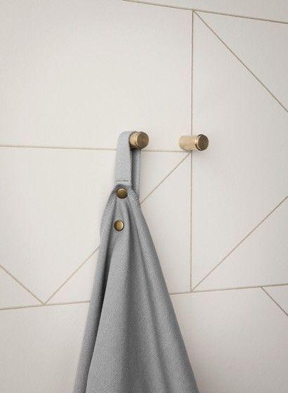 Für Die Küche: Tapete Lines Von Ferm Living #skandinavisch #design  #tapezieren #vintage