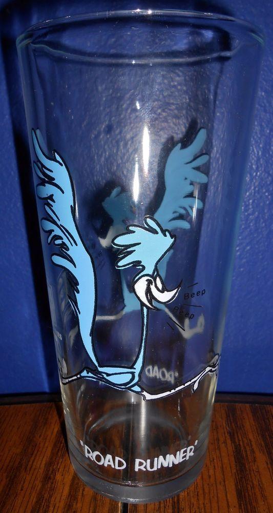 1973 Pepsi Collector Looney Tunes Cartoon Character Glasses tumbler Warner Bros