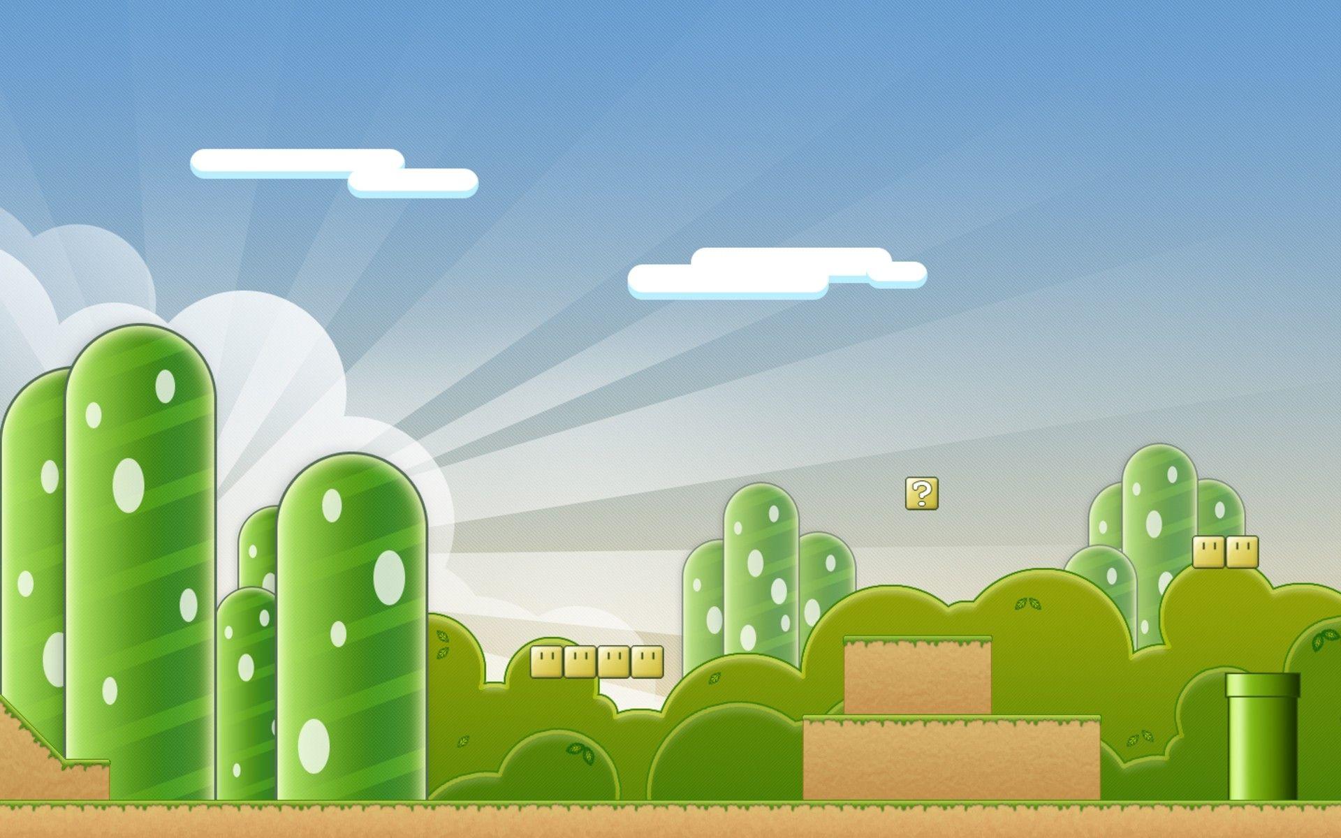 Super Mario Scenery | Mario Stuff | Super mario, Mario bros
