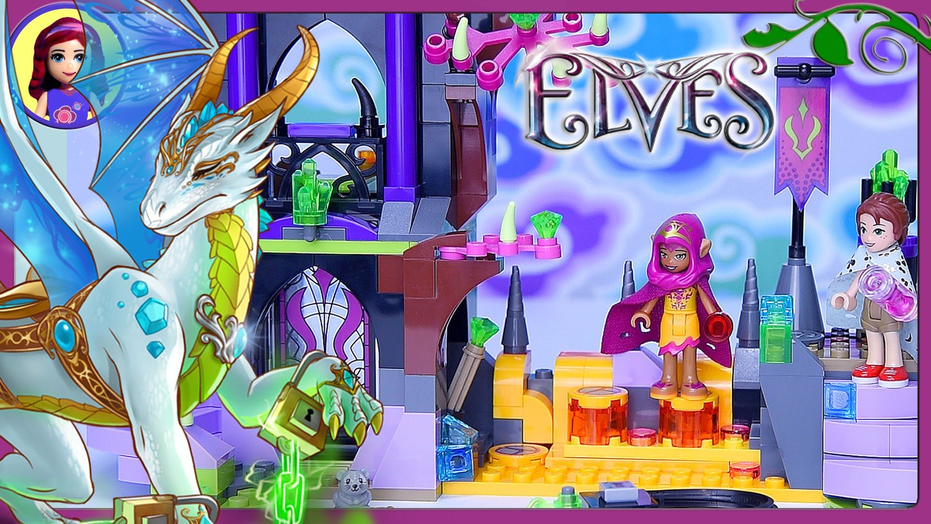LEGO Elves Queen Dragon s Rescue Build Review Silly Play Part 1