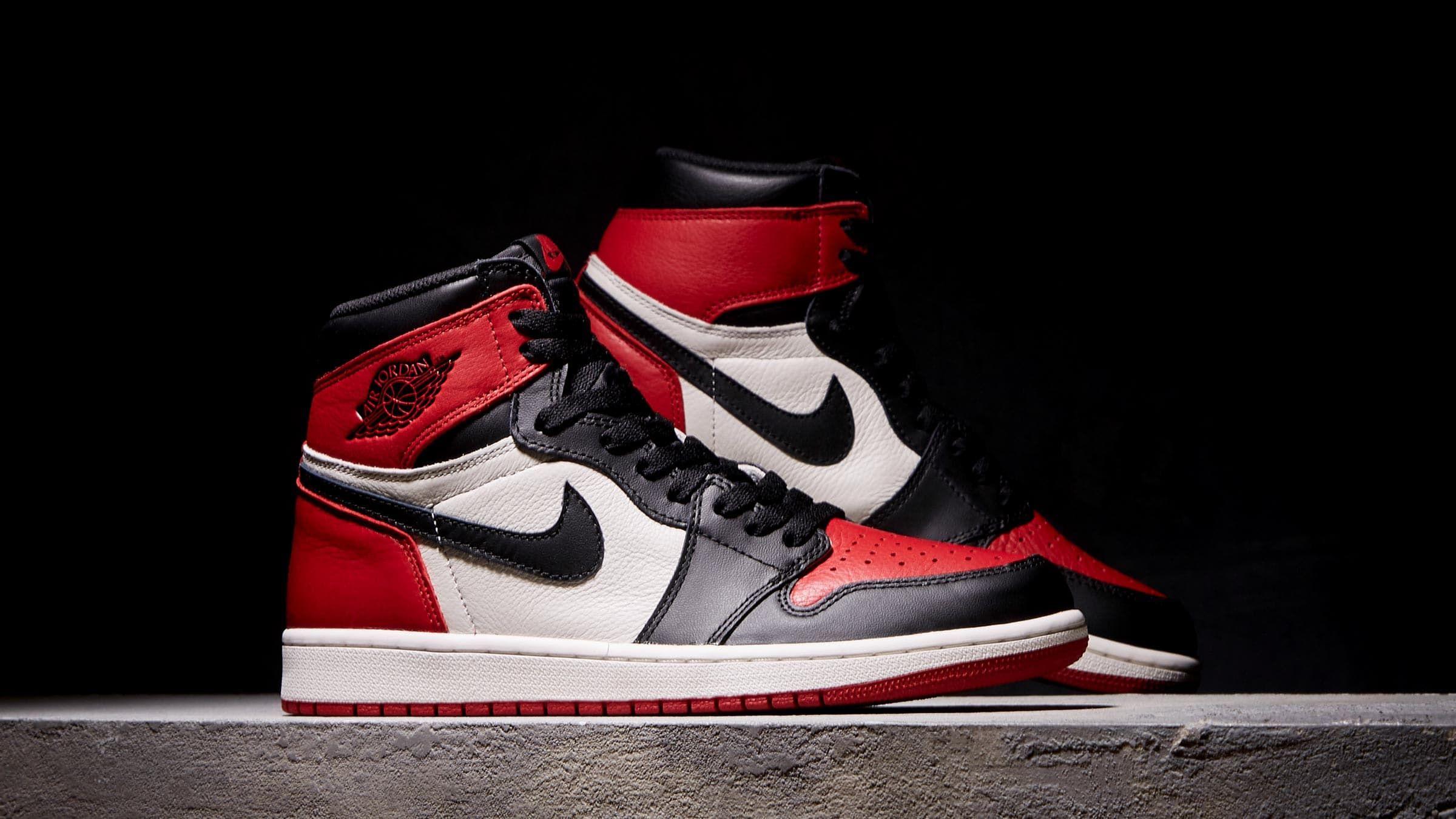 best loved f2e4f 253c7 Nike Air Jordan 1 Retro High OG  Bred Toe  555088-610
