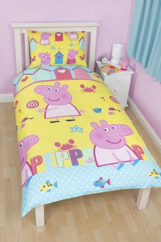 This cute animal has a pink color with a lot of meat. Papers Dreams Copripiumone Peppa Pig Letto Giallo Peppa Pig Idee Letto