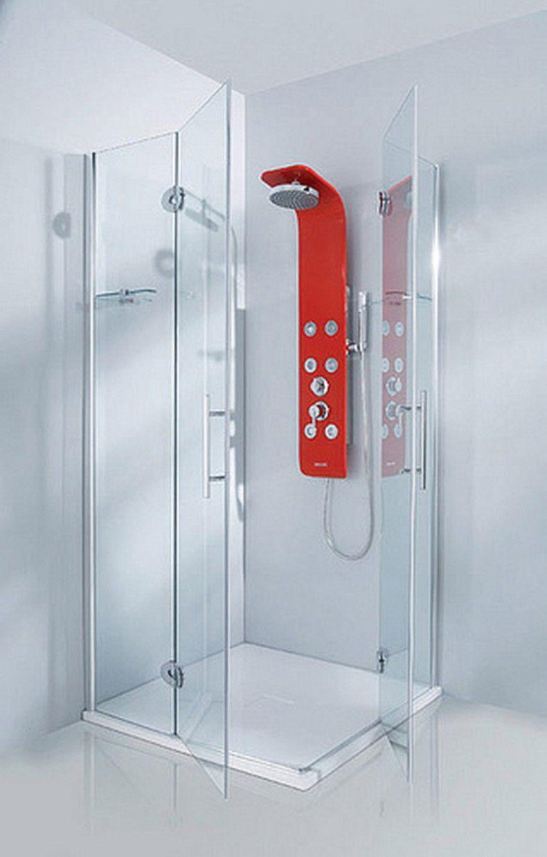 12 Clever Modern Bathroom Shower Ideas   Pinterest   Shower panels ...
