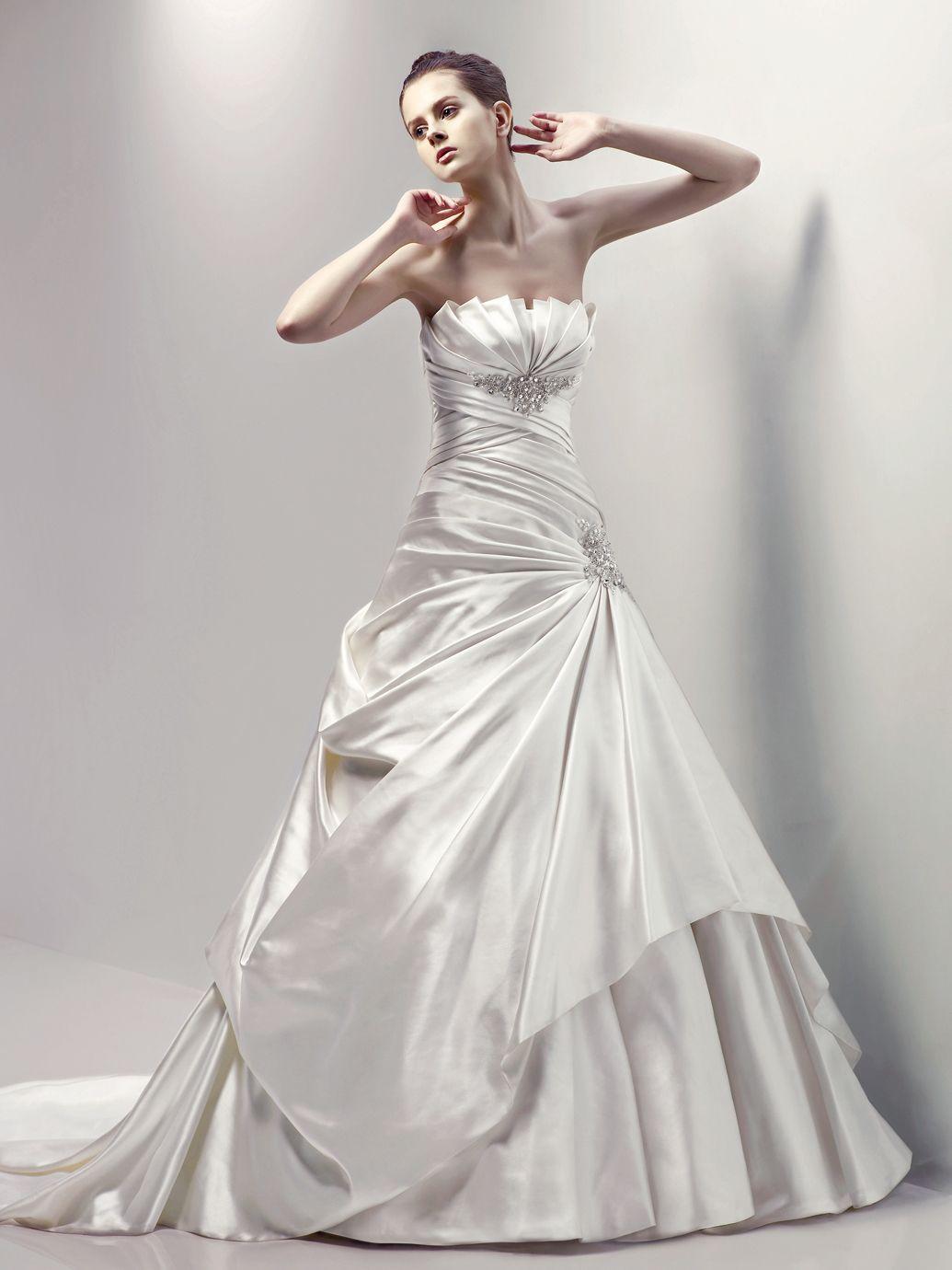 Calistoga Blue Collection Enzoani Available Colours Diamond White Ivory Bridal