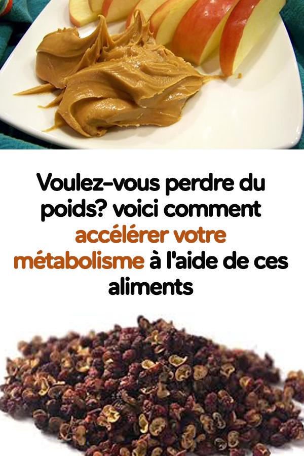 Comment accélérer le métabolisme et perdre du poids ?