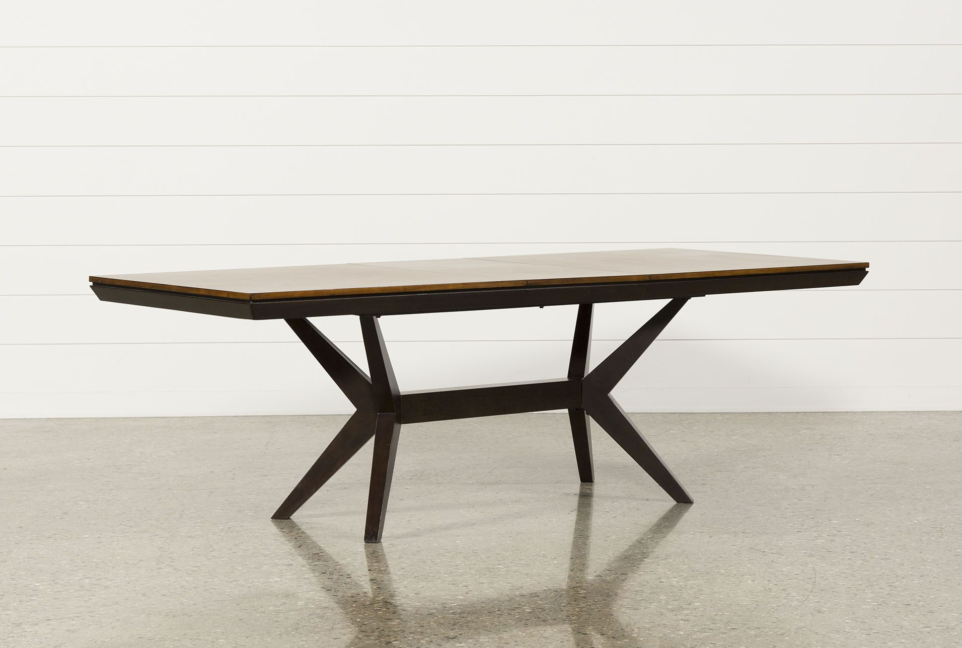 Spencer Extension Rectangle Dining Table Midcentury Modern