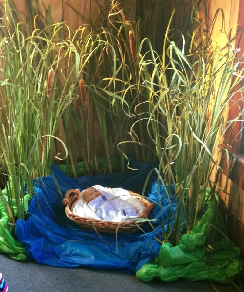 Baby Moses Preschool And Children S Church Decorating Ideas We Created This Baby Moses S Kids Sunday School Lessons Sunday School Kids Sunday School Preschool
