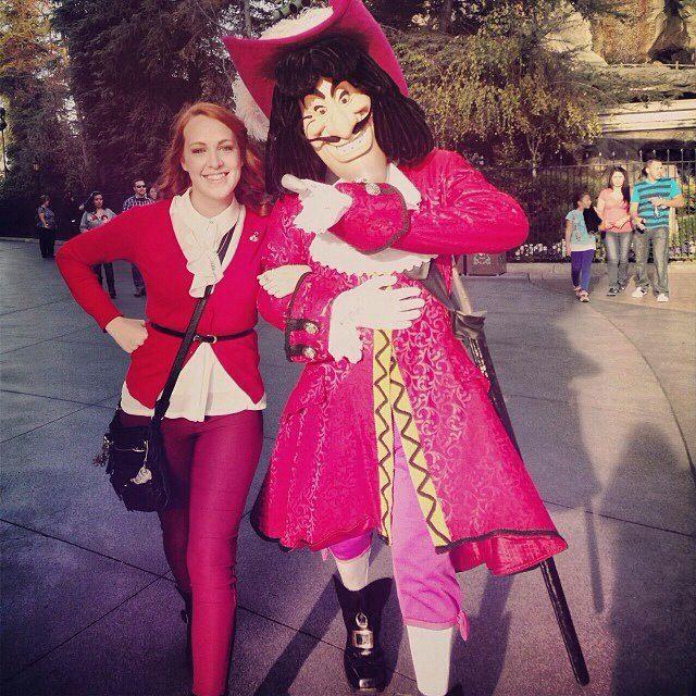 Capt Hook Disneybound