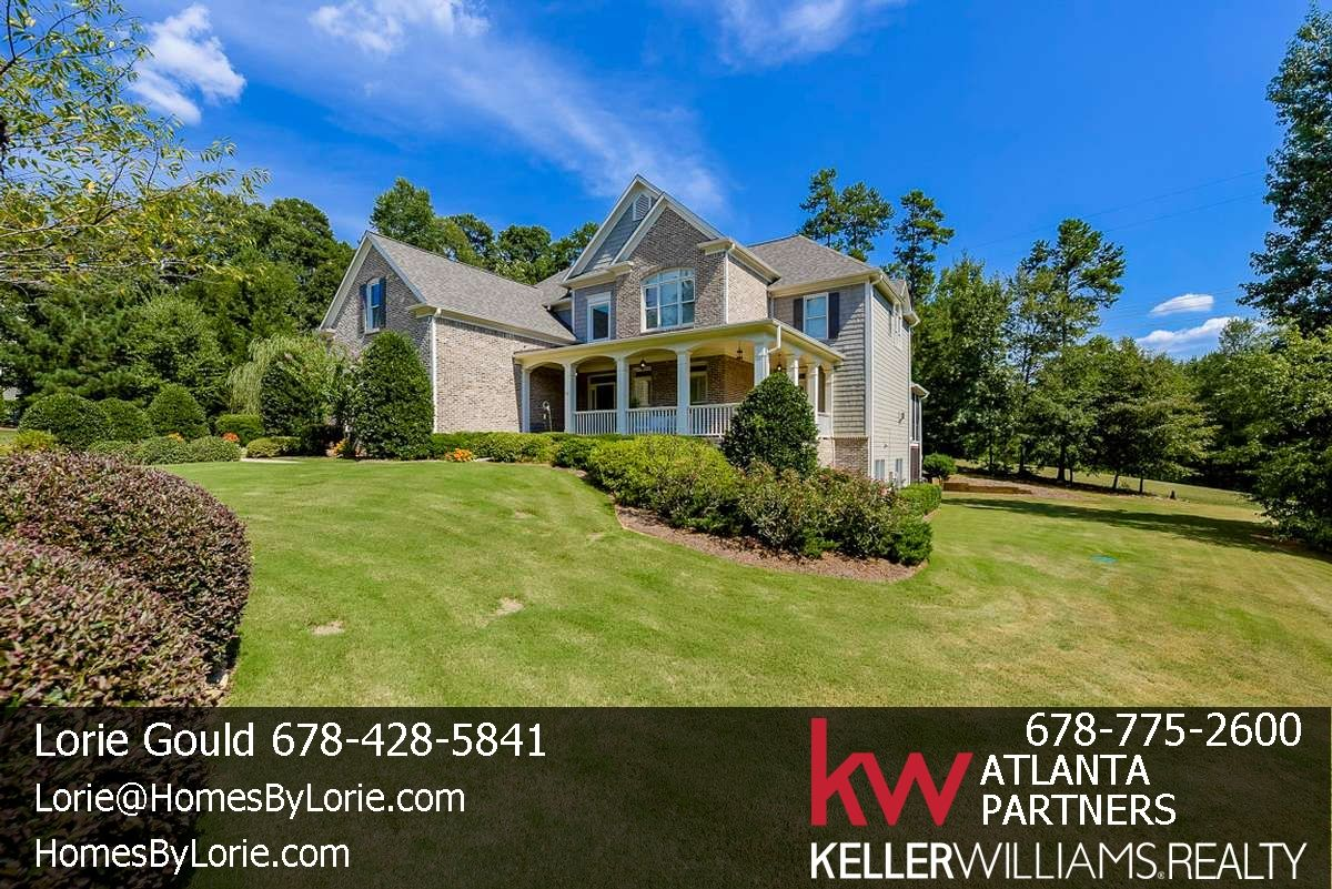 Situated on over an acre and a half, this southern beauty is sure to delight! Terrace level is one of the best I have seen!