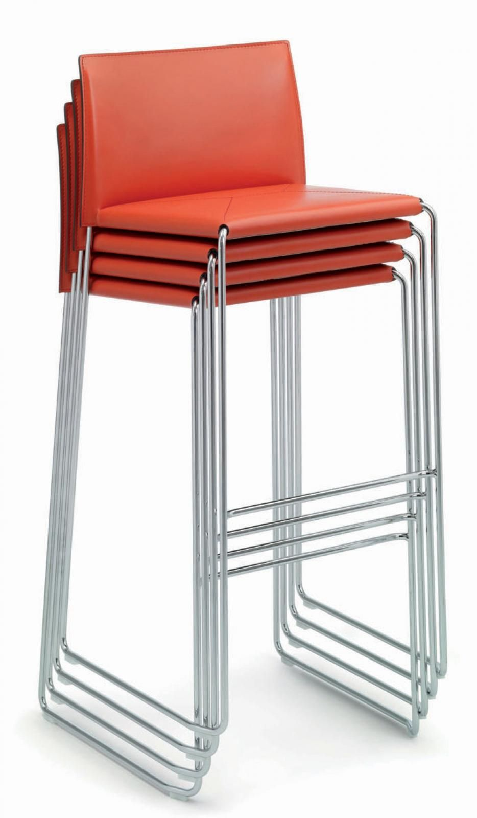Luxury Stackable Stools with Back