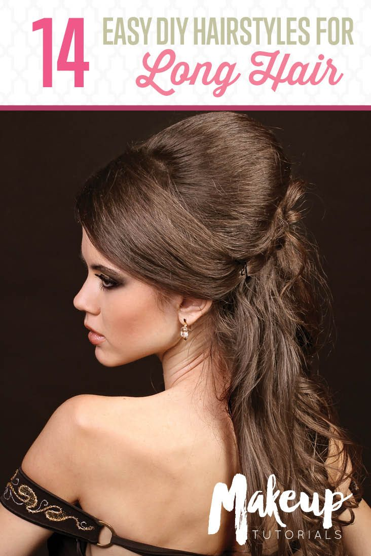 fun and fab diy hairstyles for long hair my style pinterest