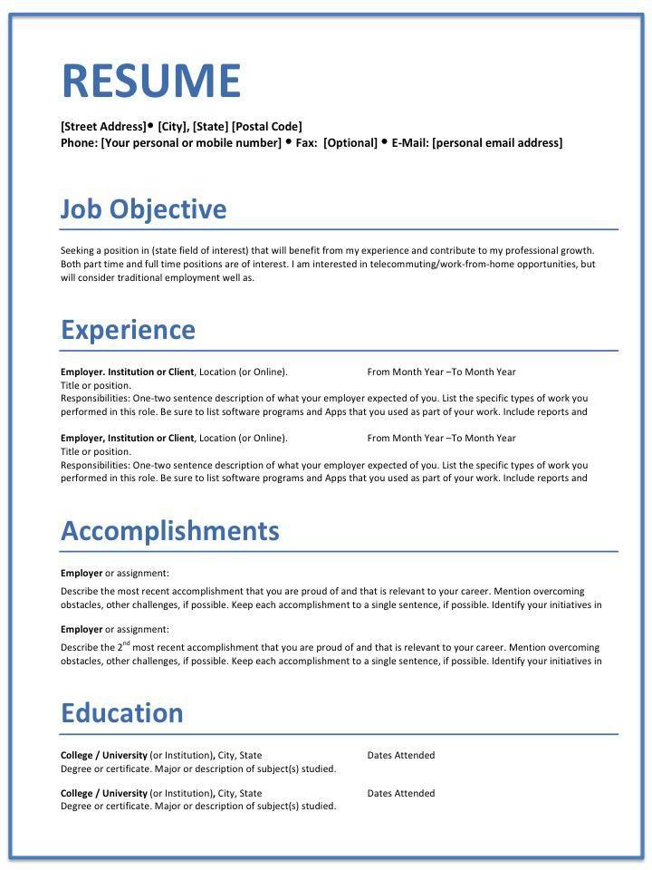 Career Builders Resume Resume Builder Tips For Building Good  Careers  Pinterest  Resume .