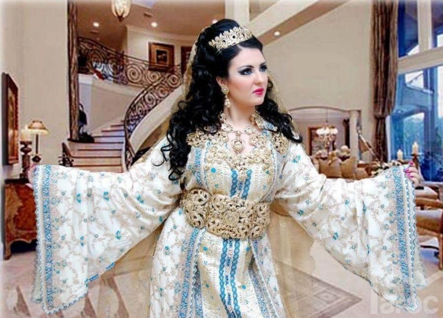 Le plus beau nouveau caftan marocain luxe - caftanzaz