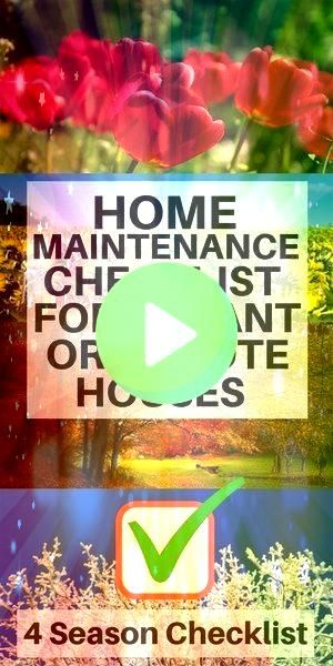 Maintenance checklist for Vacant or Remote Houses Home Maintenance checklist for Vacant or Remote Houses Home Maintenance checklist for Vacant or Remote Houses Homes cont...