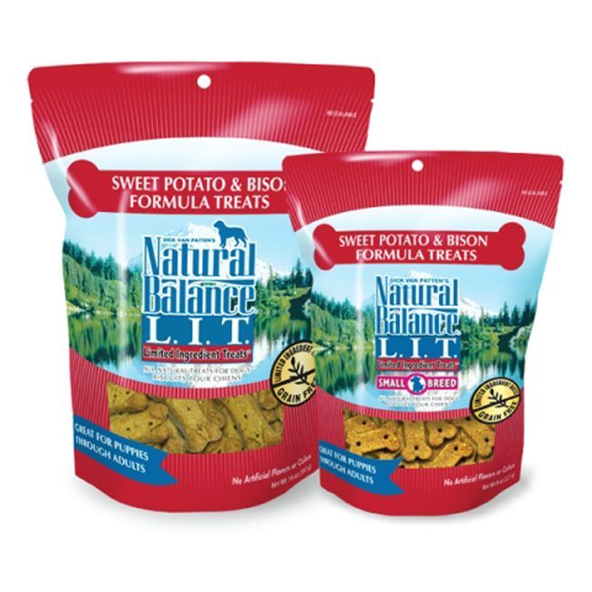 Balance® L.I.T. Sweet Potato & Bison Formula 8-ounce Dog Treats