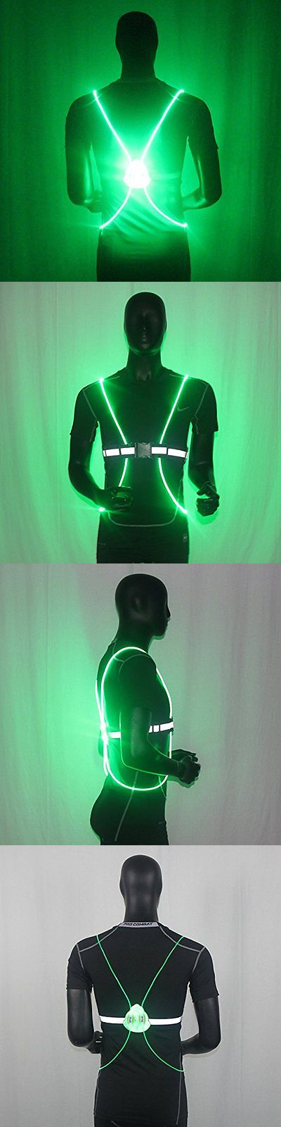 Safety And Reflective Gear 158951 Rico Lighting Led Vest