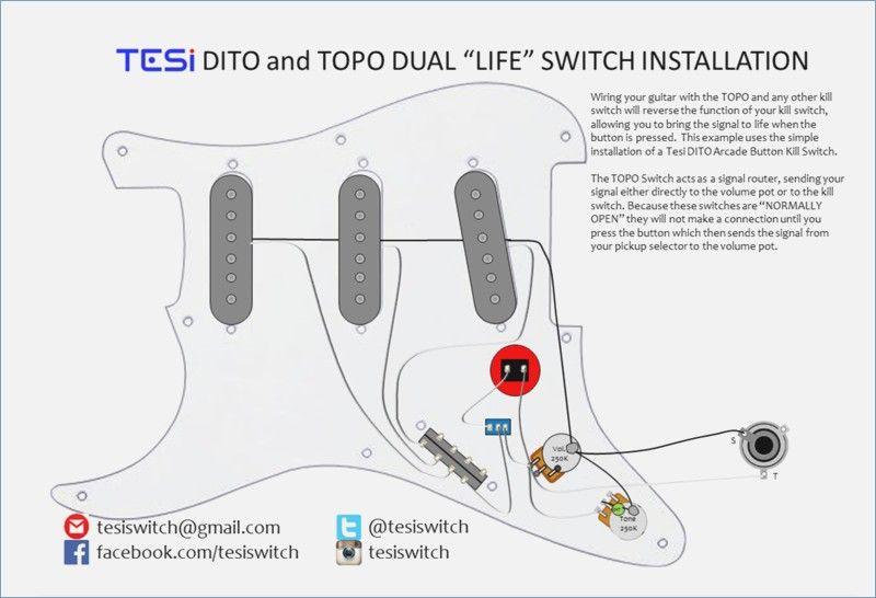 guitar killswitch wiring diagram vivresaville