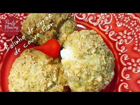 Bolinho de arroz de couve-flor   Viver sem Trigo por Paula Martins