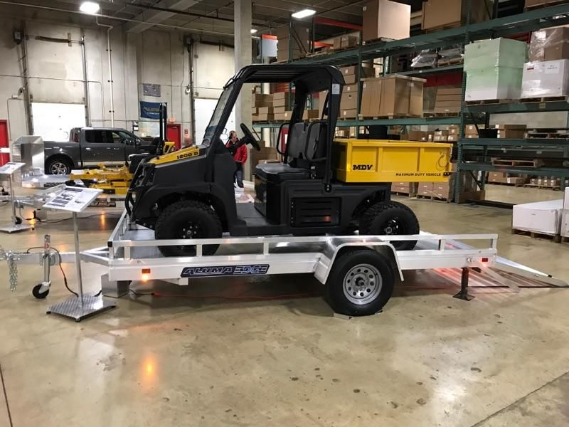 new aluma edge series trailer with side rail kit 78 x 12 all